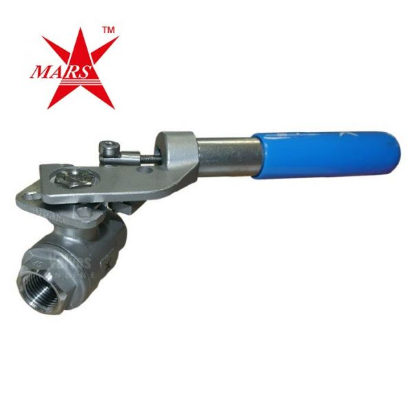 Mars Ball Valve Series 22 with Spring Return Handle