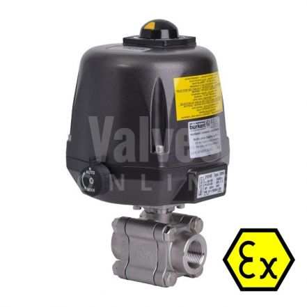 ATEX Series 88 Electric Actuated Screwed Ball Valve