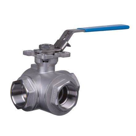 Mars Ball Valve Series 39 3 Way Direct Mount