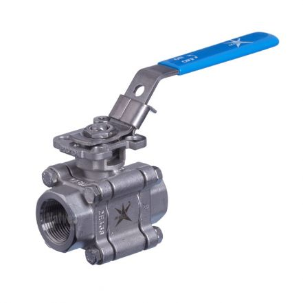 Mars Ball Valve Series 88 3 Piece Heavy Duty Direct Mount