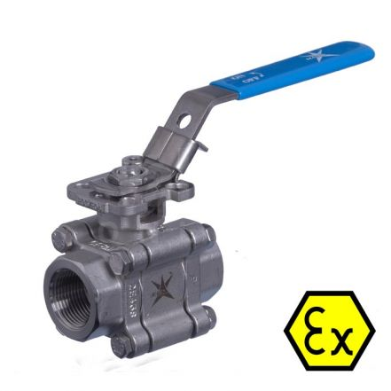 Mars Ball Valve Series 88 Fire Safe Anti Static Stainless Steel