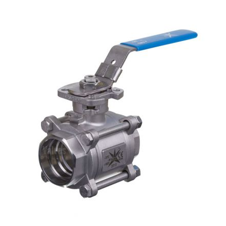 Mars Ball Valve Series 77 3 Piece Full Bore Direct Mount