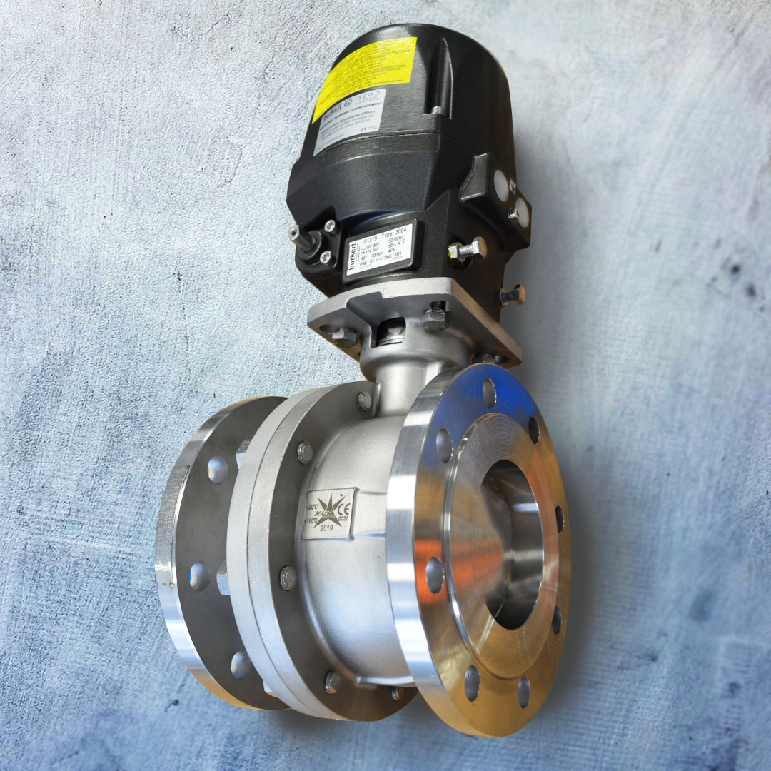 "4"" Mars Series 90D Stainless Steel Ball Valve"