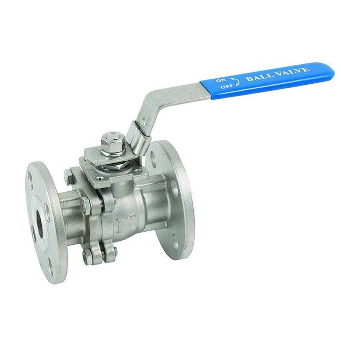 Flanged ANSI150 Stainless Steel Economy Ball Valve