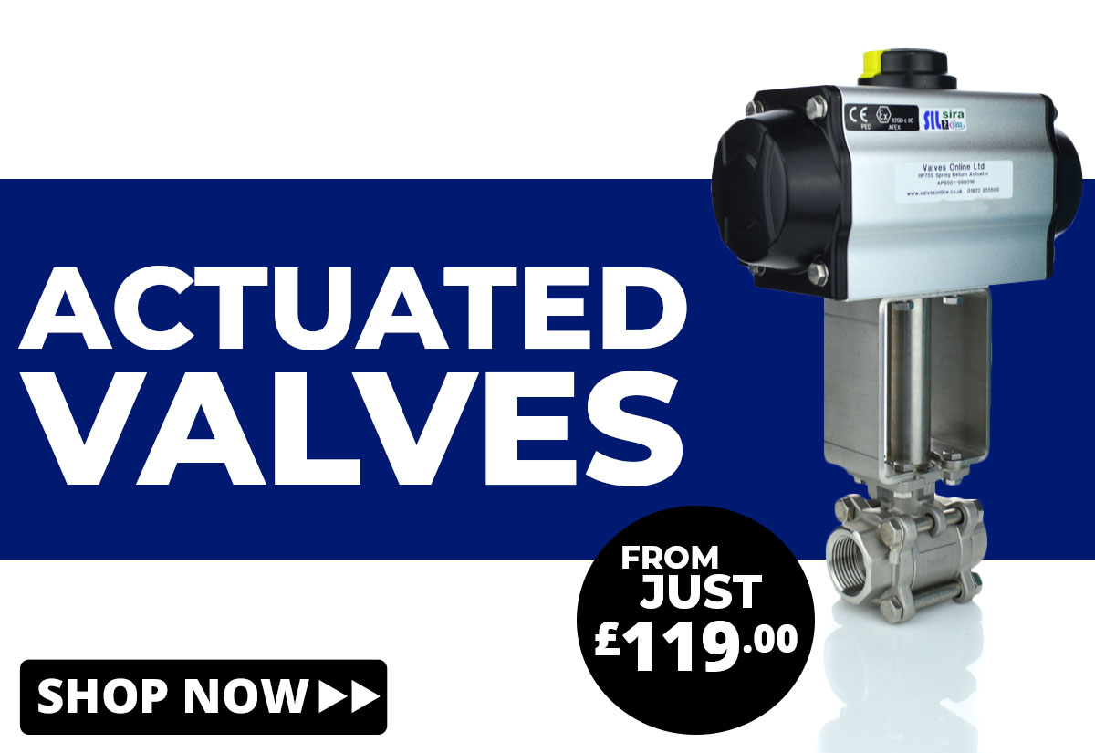 Shop Actuated Valves