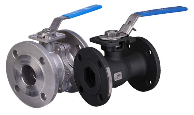 Mars manual flanged ball valves