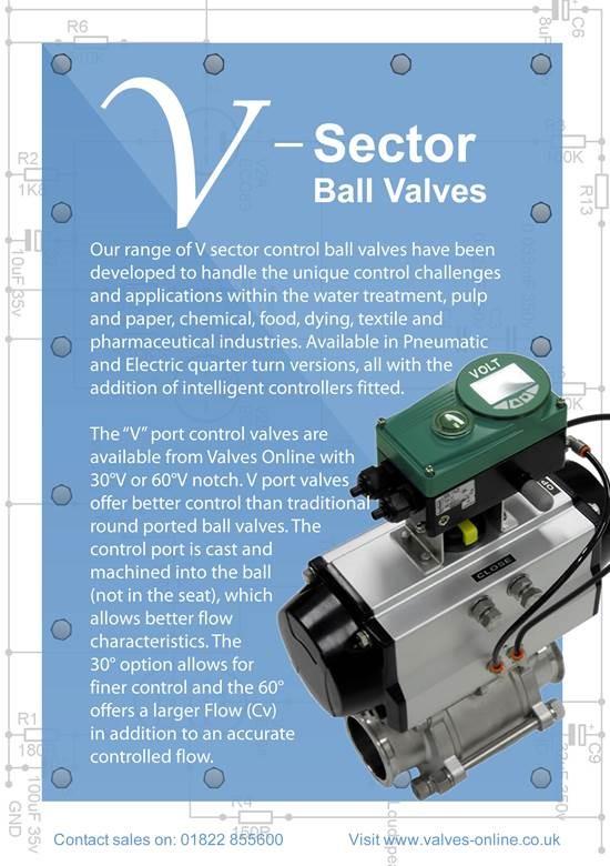 V Sector Control Valve