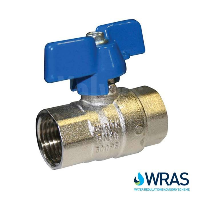 Water Service - WRAS Approved Brass Ball Valves